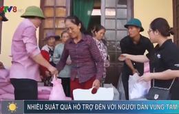 Quảng Bình: Nhiều xuất quà hỗ trợ đến với người dân vùng tâm bão