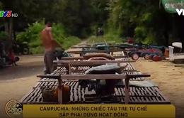 Café Sáng với VTV3: Khám phá những chiếc tàu tre tự chế tại Campuchia