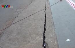 Xuất hiện vết nứt sạt lở mới ở An Giang