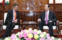 Chủ tịch nước tiếp Tổng Giám đốc TATA Việt Nam