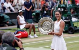 Vượt qua Venus Williams, Garbine Muguruza lần đầu vô địch Wimbledon
