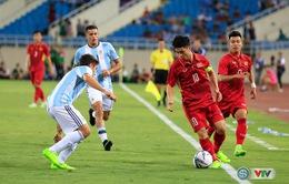 U22 Việt Nam 0 - 5 U20 Argentina: U20 Argentina thắng áp đảo