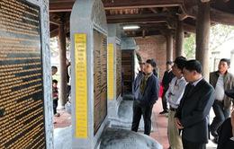 Khánh thành hệ thống bia Tiến sĩ Văn miếu Mao Điền