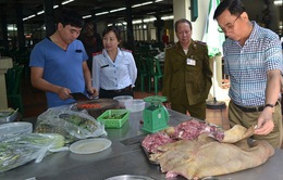 Tăng cường công tác thanh tra, kiểm tra về an toàn thực phẩm dịp cuối năm