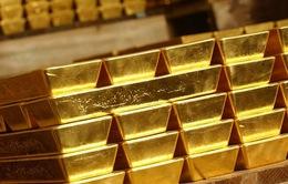 Giá vàng thế giới giảm sâu về mức thấp nhất 8 tuần