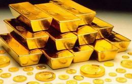 Giá vàng thế giới giảm mạnh do đà tăng của thị trường trái phiếu