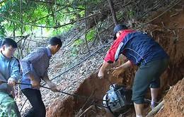 Kon Tum: Phát hiện bãi vàng trái phép tại vườn quốc gia Chư Mom Ray