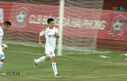VIDEO: Văn Quyết ghi bàn gỡ hoà cho CLB Hà Nội trên chấm phạt đền