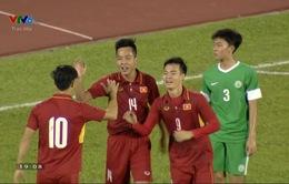 VIDEO: Văn Toàn dứt điểm đẹp mắt nới rộng khoảng cách cho U23 Việt Nam