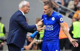 """HLV Ranieri họp khẩn với Vardy, Mahrez để """"cứu"""" Leicester"""