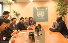 Việt Nam ủng hộ thúc đẩy hệ thống thương mại quốc tế