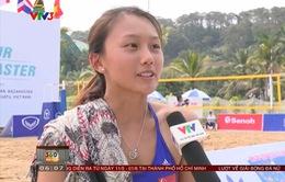 Cảm nhận của các VĐV nước ngoài tại Giải bóng chuyền bãi biển nữ châu Á Tuần Châu 2017