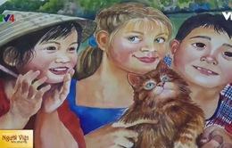 Quỹ tài trợ của Tổng thống Nga hỗ trợ kinh phí cuộc thi vẽ tranh Việt - Nga