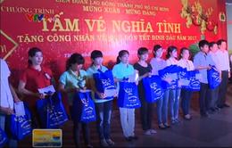 TP.HCM tặng hơn 6.000 vé xe miễn phí cho công nhân