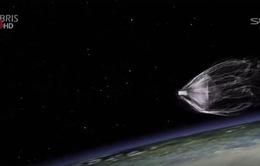Thử nghiệm công nghệ vệ tinh thu gom rác thải không gian