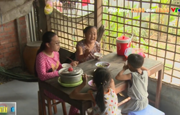 Cuộc sống khốn khó của 4 bà cháu trong mái nhà tranh nghèo