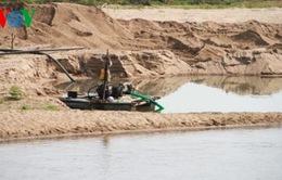 Nhức nhối nạn khai thác cát trái phép tại Gia Lai