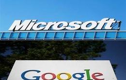 Microsoft và Google hợp tác chống vi phạm bản quyền