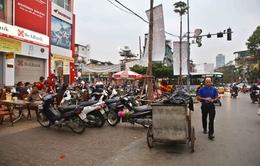 Hà Nội tuyên truyền người dân không lấn chiếm vỉa hè