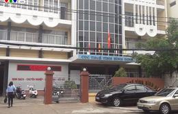 Khởi tố vụ án, khởi tố bị can đối với Trưởng phòng Thanh tra Cục Thuế Bình Định