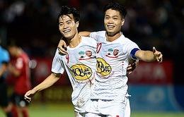 Lịch thi đấu và trực tiếp bóng đá vòng 11 V.League 2017: HAGL vs CLB Quảng Nam, Hải Phòng vs SLNA
