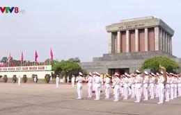 Lãnh đạo Đảng, Nhà nước viếng Lăng Bác nhân kỷ niệm 72 năm Quốc khánh