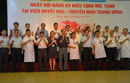 Hà Nội: 500 cán bộ, nhân viên Viện huyết học đăng ký hiến tạng