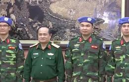 Việt Nam bổ sung sĩ quan tham gia lực lượng Gìn giữ hòa bình của LHQ