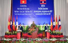 Phát động năm đoàn kết hữu nghị Việt Nam - Lào 2017
