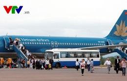 Hàng không tăng tải phục vụ hành khách bị ảnh hưởng bão số 10