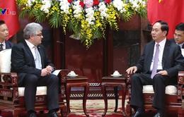 Chủ tịch nước: Việt Nam - Thụy Sỹ cần nỗ lực thúc đẩy hợp tác về thương mại, đầu tư