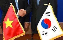 Đoàn đại biểu Việt Nam tham dự chiêu đãi kỷ niệm Quốc khánh Hàn Quốc