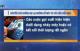 Vinaphone khuyến cáo các cuộc gọi lừa đảo từ nước ngoài