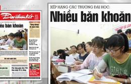Tranh cãi sau công bố bảng xếp hạng trường đại học Việt Nam