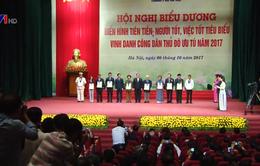 Đồng chí Võ Văn Thưởng dự lễ vinh danh 10 công dân Thủ đô ưu tú