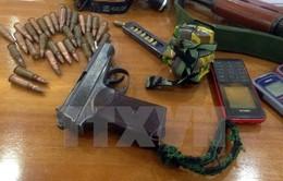 Phạt tù các đối tượng trong đường dây mua bán vũ khí, chất nổ trái phép