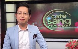 BTV thể thao Việt Khuê bất ngờ trở thành MC Café sáng với VTV3