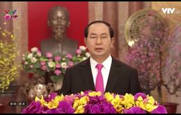 Chủ tịch nước Trần Đại Quang chúc Tết Đinh Dậu 2017 đồng bào cả nước