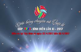 Lịch tường thuật trực tiếp Giải bóng chuyền nữ quốc tế Cúp VTV9 - Bình Điền 2017