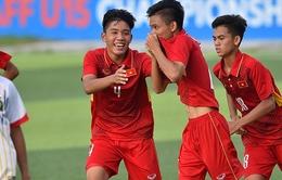 VIDEO: U16 Việt Nam giành chiến thắng ấn tượng 9-0 trước U16 Mông Cổ