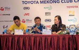 Mekong Cup 2017: Sanna Khánh Hòa quyết tâm thi đấu với tư cách đại diện bóng đá Việt Nam