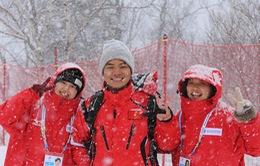 Câu chuyện thể thao: Tinh thần nỗ lực vượt khó của VĐV Việt Nam tại Á vận hội mùa đông 2017