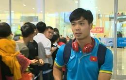 Đội tuyển Việt Nam về nước sau hành trình dài