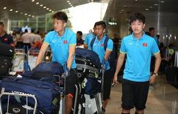 U22 Việt Nam đặt chân đến Malaysia