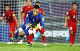 VIDEO: Những tình huống cản phá xuất sắc của thủ môn Tiến Dũng trước U23 Thái Lan