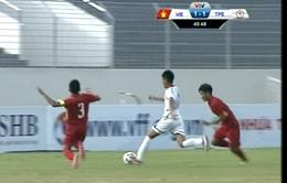 Giải U15 Quốc tế 2017 : U15 Việt Nam 5 - 2 U15 Đài Bắc Trung Hoa: Chiến thắng áp đảo