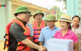 Nguy cơ vỡ nhiều tuyến đê ở Hà Nội