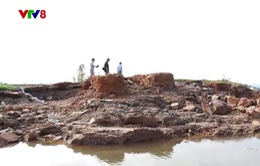 Vỡ tuyến đê ngăn mặn bờ Nam sông Gianh, Quảng Bình