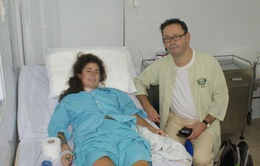 Đà Nẵng: Cứu sống du khách nước ngoài bị vỡ tim do tai nạn giao thông