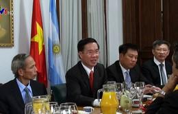 Thúc đẩy quan hệ hợp tác Việt Nam và Argentina